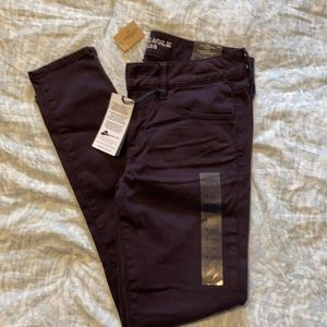 New American eagle low rise jegging size 4 short.